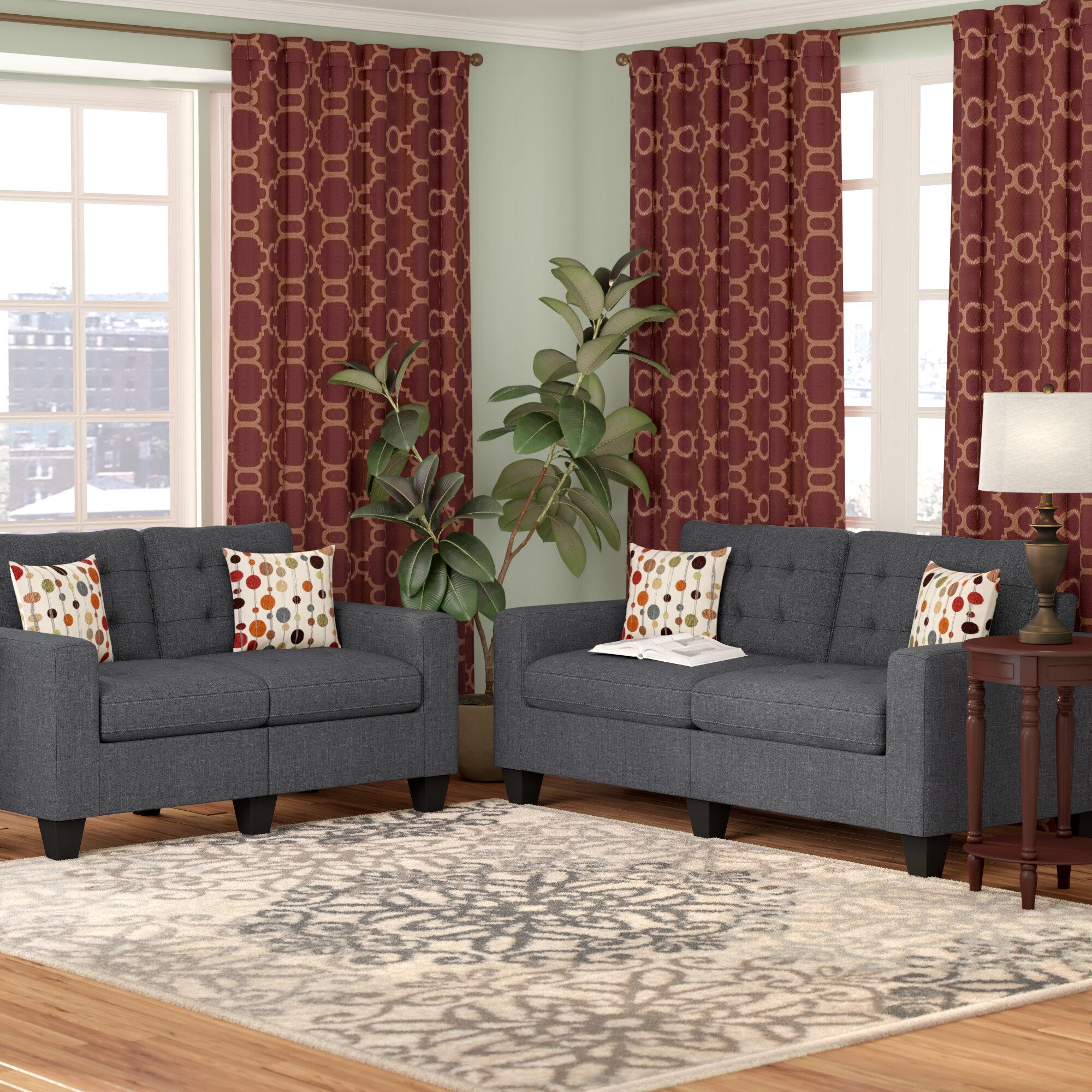 Andover Mills Callanan 2 Piece Living Room Set & Reviews   Wayfair