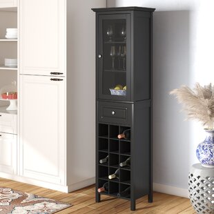 Burley Bar with Wine Storage by Andover Mills