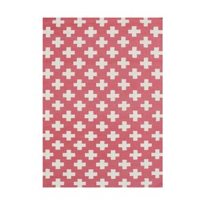 Anne Sophie  Hand-Tufted Water Melon Area Rug