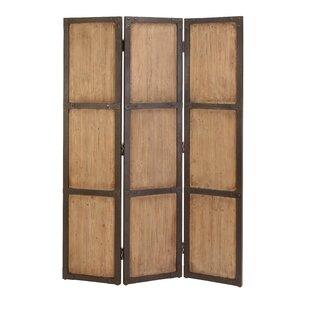 Cole & Grey 3 Panel Room Divider