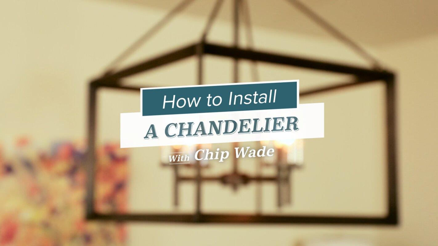 3-Light Shaded Chandelier