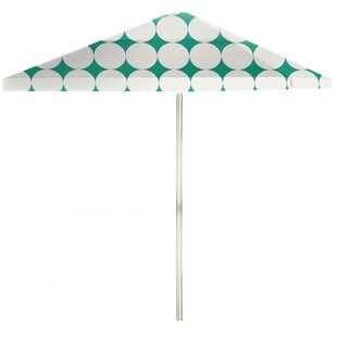 6' Square Market Umbrella by Best of Times Discount