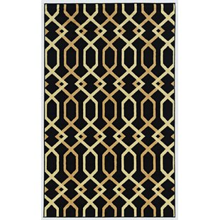 Guide to buy Grays Black Area Rug By Mercer41
