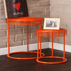 Eontic 2 Piece Nesting Table Set by Holly & ..