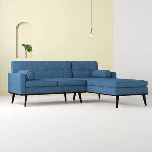 Altheimer Mid Century Modern Modular Sectional Sofa
