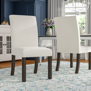 Great Price Wilshire Upholstered Dining Chair (Set of 2) By Gracie Oaks