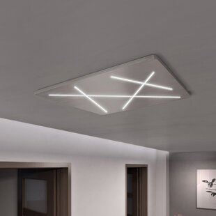 Wade Logan Castalia 1-Light LED Flush Mount