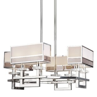 Mercer41 Bellair Octagon 8-Light Shaded Chandelier