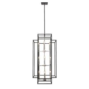 Great Price Bedingfield 12-Light Lantern Pendant By Ivy Bronx