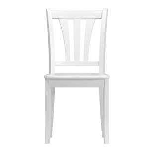 Liggett Modern Solid Wood Dining Chair (Set of 2)