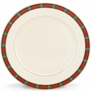 Winter Greetings Plaid Dinner Plate  sc 1 st  Wayfair & Christmas and Holiday Plates You\u0027ll Love | Wayfair