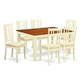 Bellanger 7 - Piece Dining Set by Darby Home Co