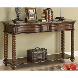 Canora Grey Belhaven Wooden Console Table