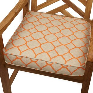 Indoor/Outdoor Sunbrella Dining Chair Cushion By August Grove
