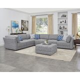 Bellwether 152 Reversible Modular Sectional with Ottoman by Latitude Run