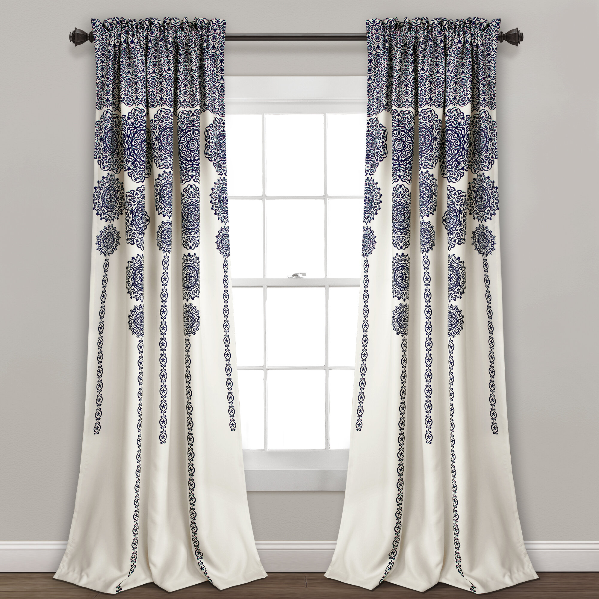 Bungalow Rose Bremond Room Darkening Thermal Rod Pocket Curtain Panels Reviews Wayfair