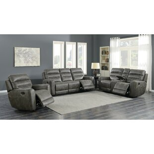 Weese 3 Piece Reclining Living Room Set b..