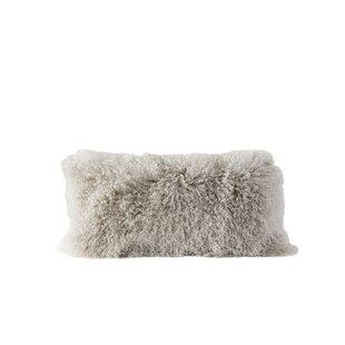 Back Bay Fur Lumbar Pillow