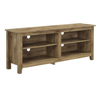 Beachcrest Home Sunbury TV Stand for TVs up to 60 Color: Barnwood