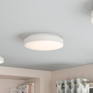 Ebern Designs Paulina 1-Light LED Flush Mount