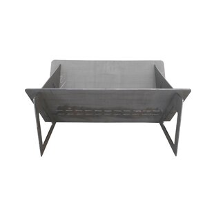 HomComfort Steel Wood Burning Fire Pit