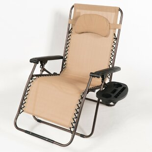 Adriana Reclining Zero Gravity Chair with Cushion