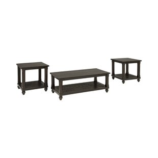 Dean 3 Piece Coffee Table Set by Rosalind Wheeler