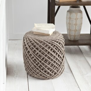 Calie Pouf by Laurel Found..