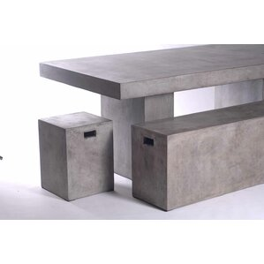 Viviana 3 Piece Rectangular Dining Set by Trent Austin Design
