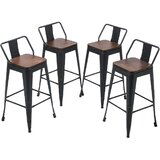 Hartselle Swivel Counter & Bar Stool (Set of 4) by Williston Forge