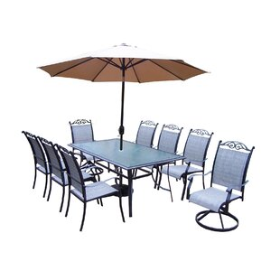 August Grove Basile 11 Piece Dining Set