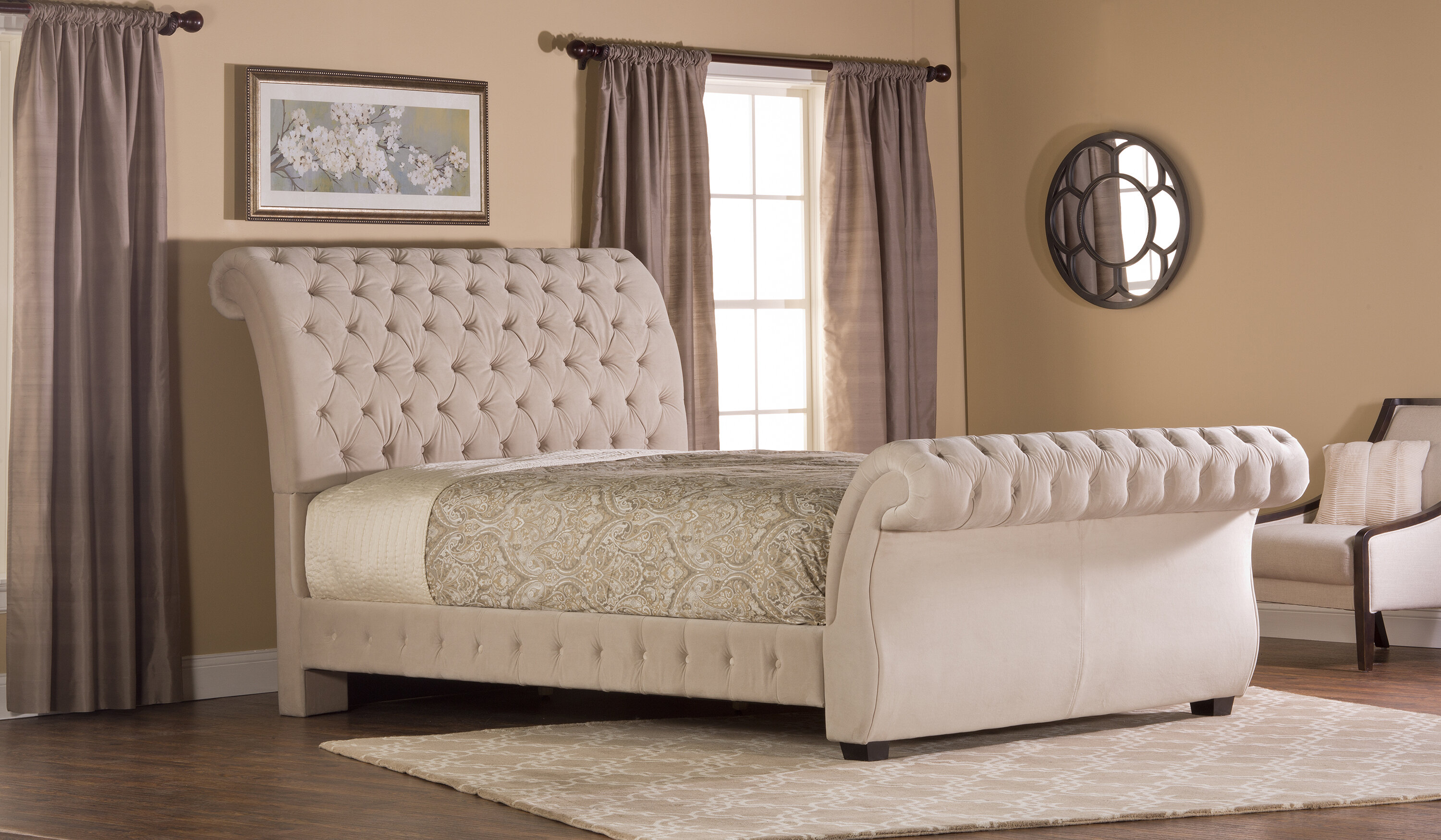 sleigh designs king headboard upholstered build picture sebastian and bed