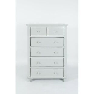 Hines Wooden 5 Drawer Chest by Rosecliff Heights Read Reviews