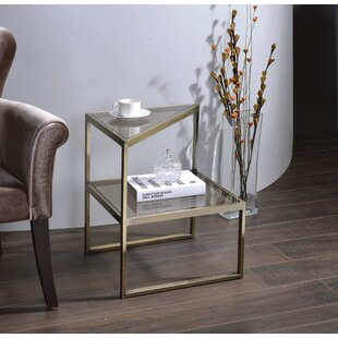 Emmitt End Table by Everly Quinn