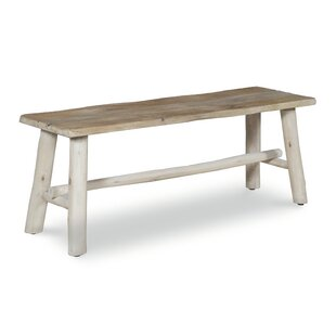 Emerita Wooden Picnic Bench by Millwood Pines