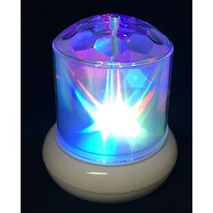 Rotating Battery Operated Hologram Star Decorative Accent Lighting