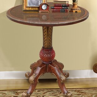 Rowsey Italian Hand Painted End Table by ..