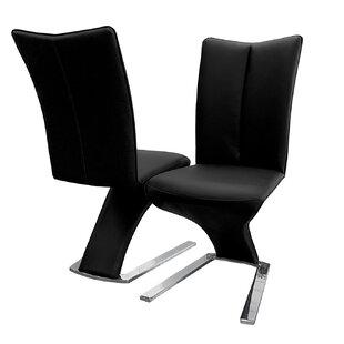 Keomi Upholstered Dining Chair (Set of 2) by Orren Ellis