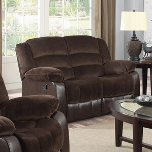 Contour Reclining Loveseat by Glory Furniture