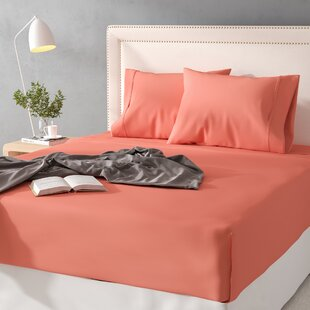 Find Cullen 300 Thread Count Solid 100% Cotton Sheet Set ByThe Twillery Co.