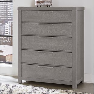 Ivy Bronx Gabriele 5 Drawer Chest