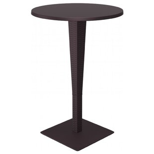 Beachcrest Home Jaelyn Traditional Bar Table