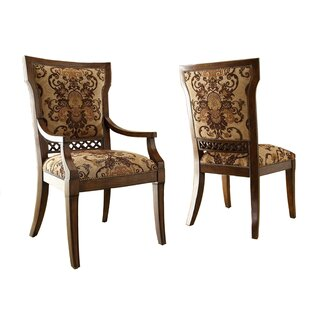 Verona Upholstered Dining Chair (Set of 2) by Eastern Legends