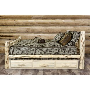 Abordale Storage Panel Bed