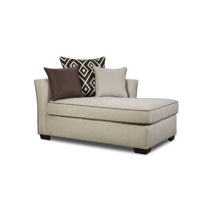 Heath Chaise Lounge by Simmons Upholstery by Latitude Run
