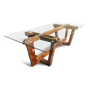Bednarz Solid Wood Dining Table Foundry Select