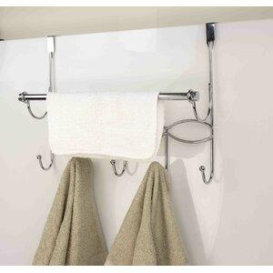 Hook Over-the-Door Towel Bar