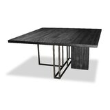 Macdougal Solid Wood Dining Table by Ivy Bronx