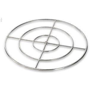 Triple Stainless Steel Fire Pit Ring Burner By American Fireglass