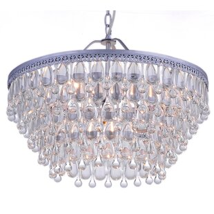 Silloth 6-Light Crystal Chandelier